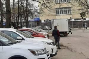 В Брянске водителей возмутило появление платной парковки у «Кремния»
