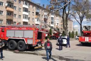 Пожар в доме детской поликлиники в Брянске обошелся без пострадавших