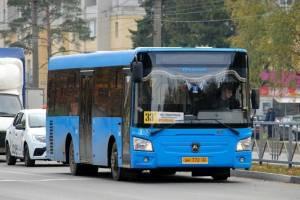 В Брянске изменится расписание автобуса №33д