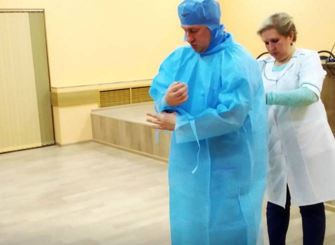 В Брянске медиков готовят к битве с коронавирусом