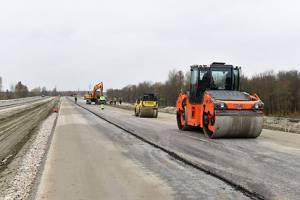 В Брянске дорогу от Metro к вокзалу строят без выходных