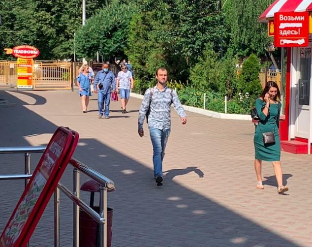 Жители Брянска забыли о масочном режиме