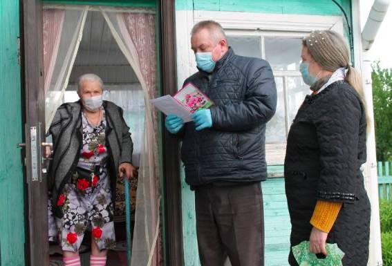 Карачевская долгожительница получила поздравление от президента Путина