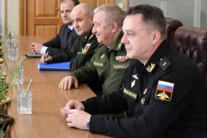В Брянскую область приехал контр-адмирал Владимир Цимлянский