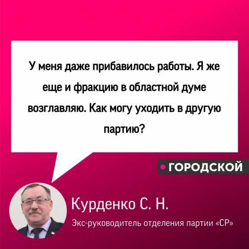 Брянский справедливоросс Курденко о своем будущем