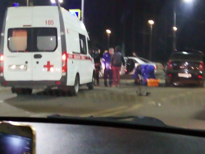В Брянске крупное ДТП на Кургане Бессмертия обошлось без жертв