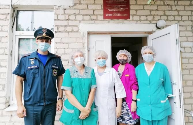 В Злынке эвакуировали комплексный центр соцобслуживания
