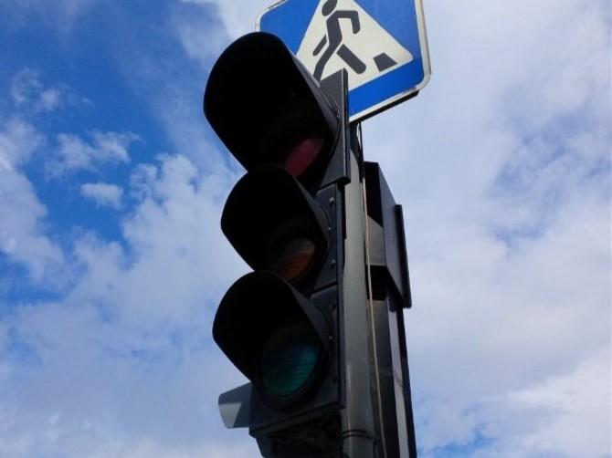 На брянской трассе в Добруни отключат светофор