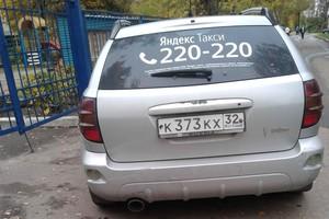 В Брянске наглый водитель такси перегородил дорогу в детский сад