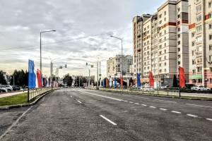 В Брянске пустили движение по новой дороге на Советской