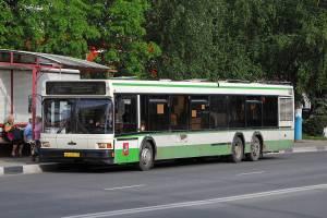 В Брянске снова начал ездить дачный автобус № 110