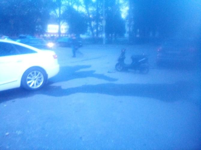 В Брянске произошло ДТП с участием водителя скутера