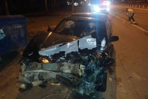 Под Брянском в ДТП двух Subaru 28-летний пассажир порвал нос
