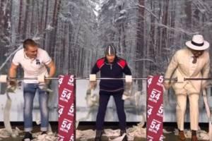Брянский лыжник Большунов выиграл на «Вечернем Урганте» гонку «Мягкая лыжня»