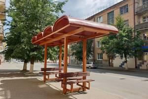 В Клинцах друзья Тома Сойера отреставрировали остановки времён СССР