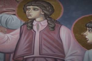 Лики праведников в Брянском кафедральном соборе напомнили трагедию Беслана