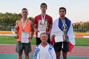 Брянские легкоатлеты Соболевы завоевали два серебра на Спартакиаде молодежи России