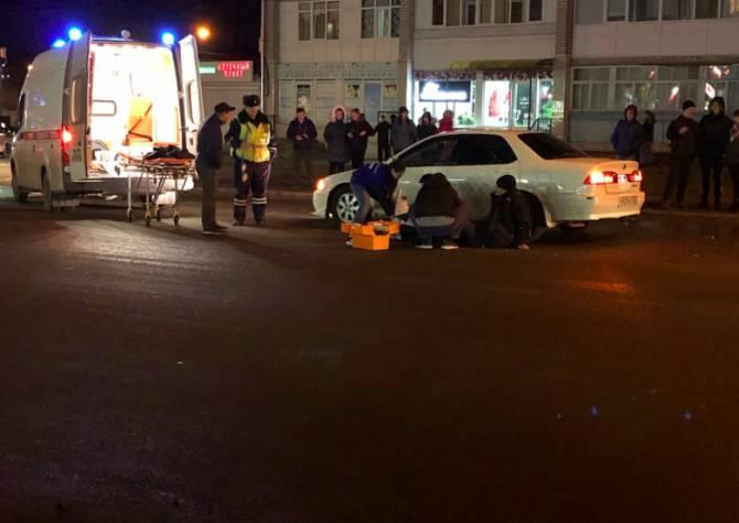 В Клинцах легковушка сбила на зебре мужчину