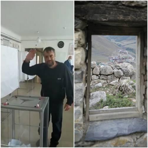 «Дело было в горном селе»: Денис Петренко голосовал по открепительному