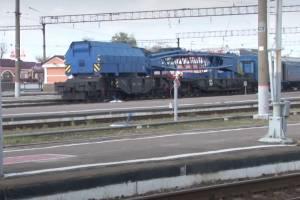 На вокзале Брянск-I снесли аварийный пешеходный мост