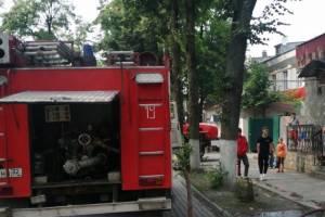 В Дятьково во время пожара из офисного здания эвакуировали 5 человек