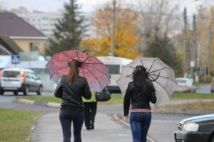 В четверг в Брянской области ожидаются сильные дожди