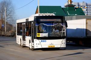 В Брянске изменится расписание движения автобусов №48