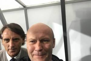 Экс-брянский замгубернатора сделал селфи с тренером сборной Италии