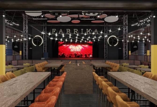 Брянцам показали изнутри самый большой ресторан «Fabrika»