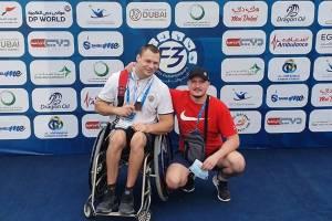 Брянский паралимпиец Хрупин завоевал «бронзу» международных соревнований