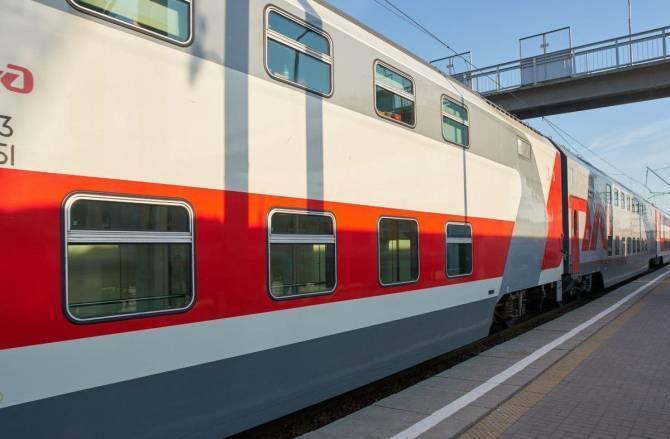 Двухэтажный поезд из Москвы ехал в Брянск на морозе с приоткрытой дверью