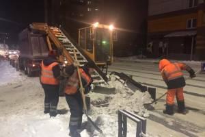 В Брянске на борьбу с последствиями снегопада выйдут 70 единиц техники