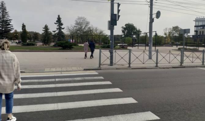 В Брянске на Набережной отключили светофор