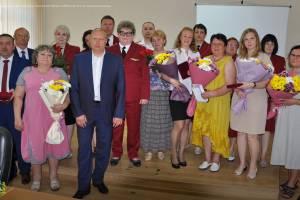 В Брянске сотрудники Роспотребнадзора получили госнаграды за самоотверженный труд