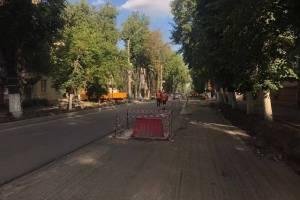 В Брянске завершили очередной этап реконструкции улицы Горького