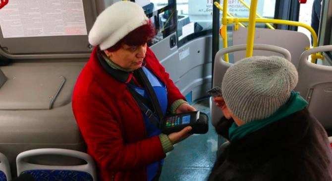 В Брянских автобусах отключили безналичную оплату