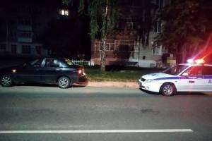 В Новозыбкове ночью лихач устроил пьяные покатушки