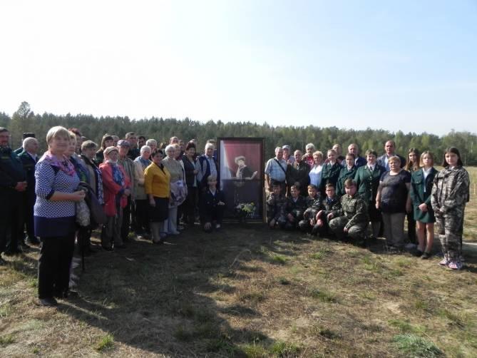 В брянском поселке заложили сквер в честь 150-летия певицы Анастасии Вяльцевой