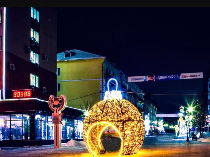 В Брянске на бульваре Гагарина установили шар желаний