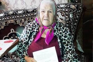 Жительница Комаричей отметила 90-летний юбилей