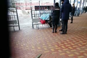В Брянске на автовокзале умер человек
