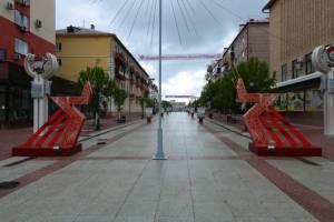 В Брянске начали ремонтировать инсталляции ко Дню Победы