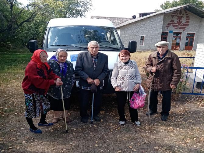 В Климовском районе пожилых селян бесплатно возят в поликлинику