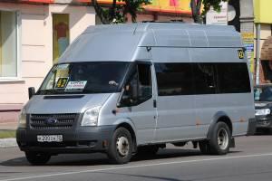 В Брянске с 16 июля маршрутка №42 поедет до поликлиники БАЗ