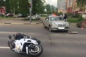 В Брянске с начала года в ДТП с мотоциклами пострадали четыре человека