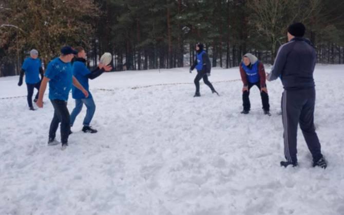 В Брянске прошел фестиваль зимних видов спорта