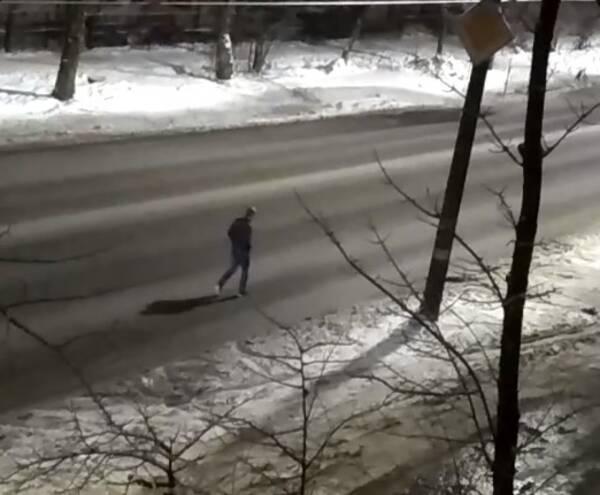 В Брянске на видео попал пешеход-камикадзе