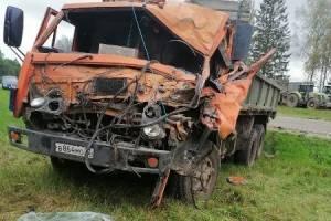 На трассе в Климовском районе столкнулись два грузовика