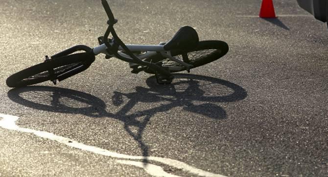 Под Брянском иномарка сбила 10-летнего мальчика на велосипеде