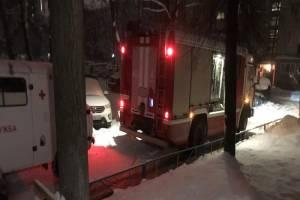 В Брянске на улице академика Королева случился пожар: есть пострадавший